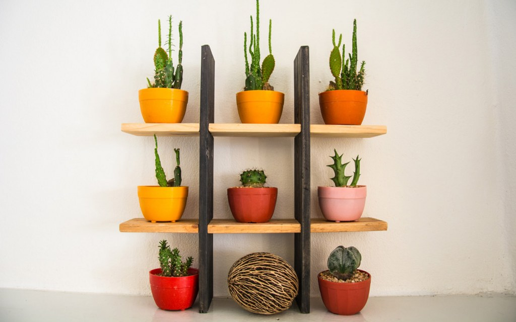 place a shelf in your bedroom