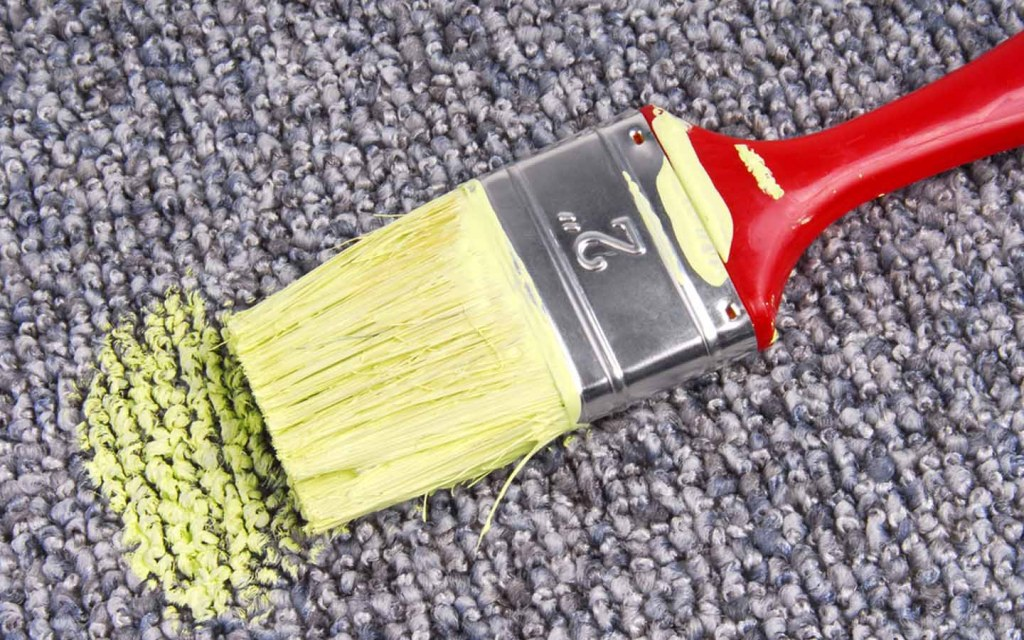 Removing Paint Stains from Carpets