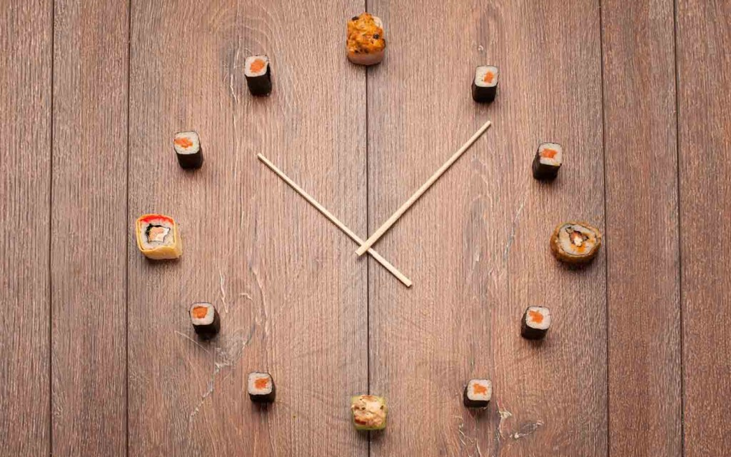 have a fun clock on the wall