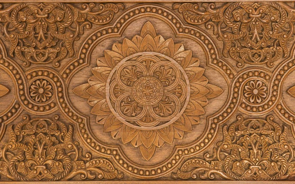 decorative carving for sheesham wood furniture