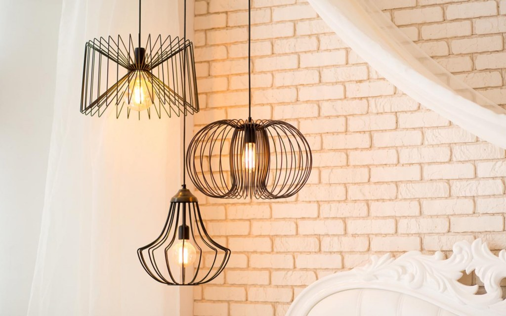 use lighting to style an open plan living